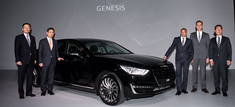 марка Genesis пополнит российский премиум сегмент новости